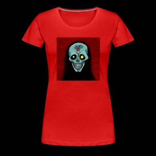 Ghost skull - Women's Premium T-Shirt
