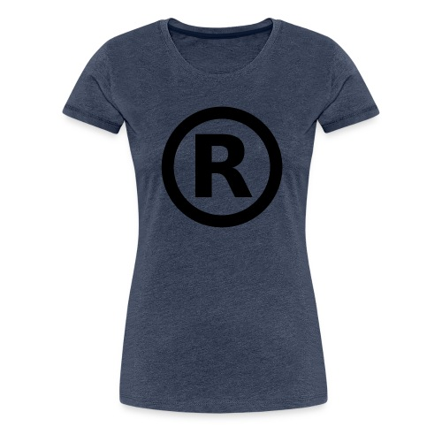 r all rights reserved - T-shirt Premium Femme