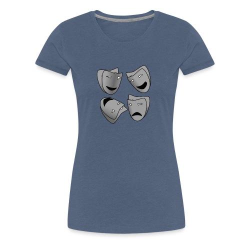 Masken - Frauen Premium T-Shirt