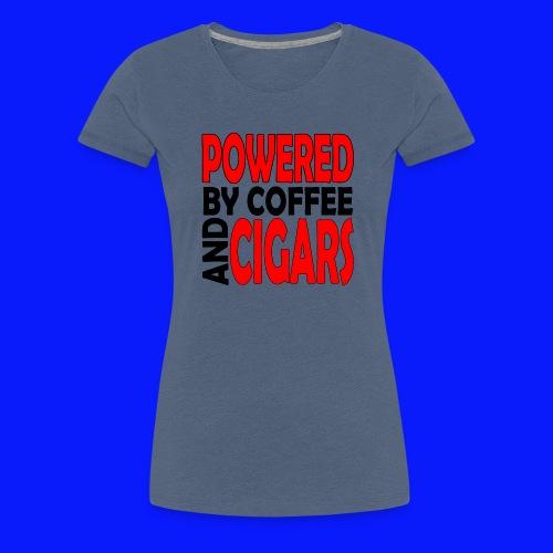 Cigars - Women's Premium T-Shirt