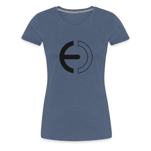 logo black only - Women's Premium T-Shirt