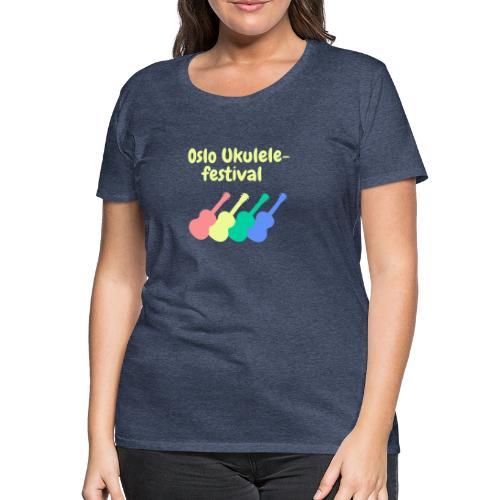 Fire ukuleler - Premium T-skjorte for kvinner