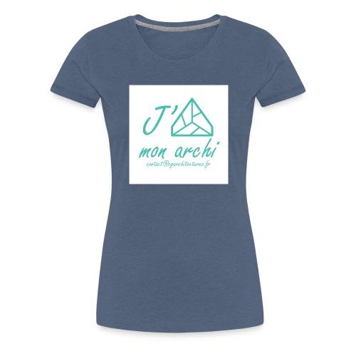 J aime mon archi - T-shirt Premium Femme