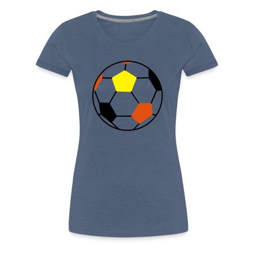 Fußball Deutschland - Frauen Premium T-Shirt