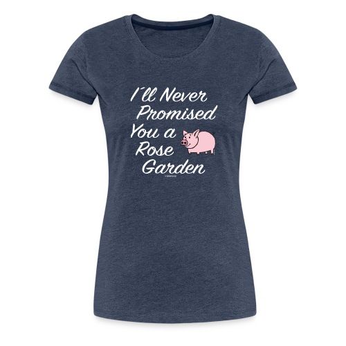 Hauskat Possu paidat, tekstiilit- ja lahjatuotteet - Naisten premium t-paita