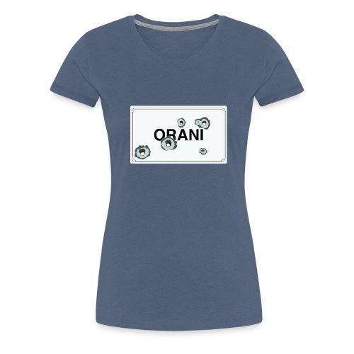 Cartello Orani bianco - Maglietta Premium da donna
