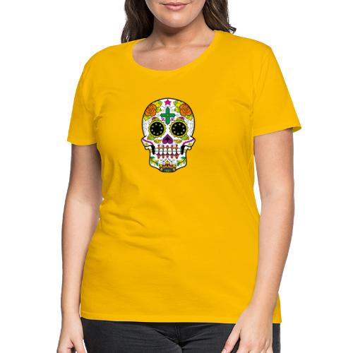 skull4 - Maglietta Premium da donna