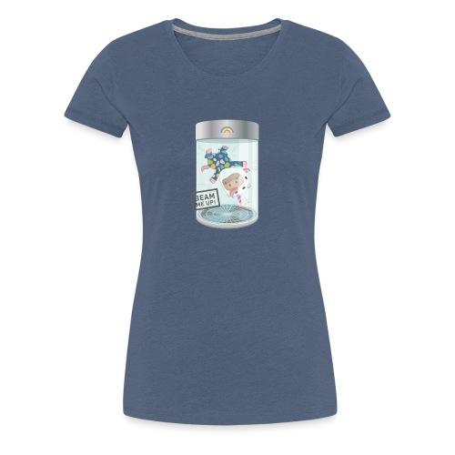 Indoorflyer - Frauen Premium T-Shirt
