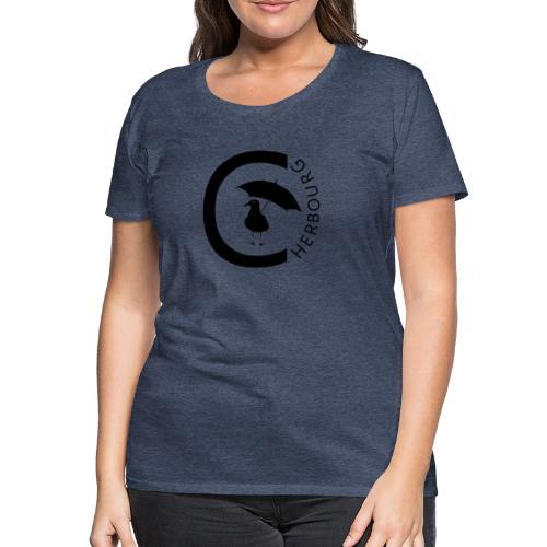 Cherbourg mouette - T-shirt Premium Femme