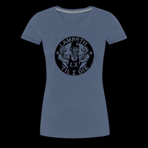LAMBETH - BLACK - Women's Premium T-Shirt