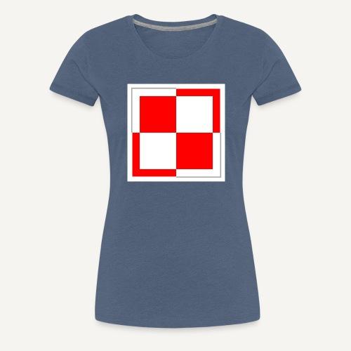 szachownica - Koszulka damska Premium