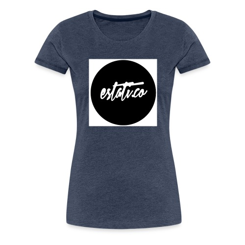 Taza blanca / punto - Camiseta premium mujer