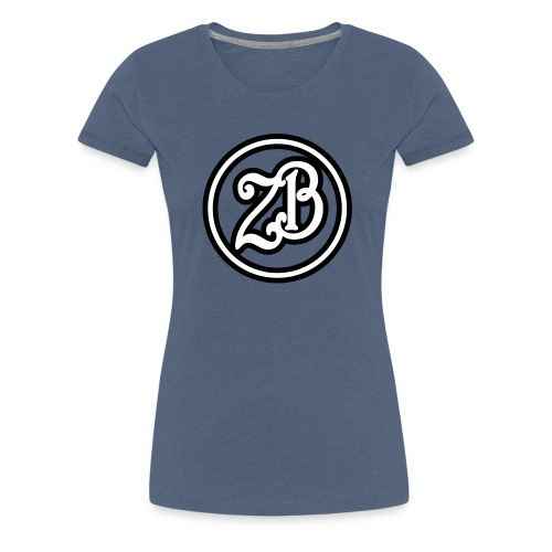 ZB Vlogs Hat - Graphite/Black - Women's Premium T-Shirt