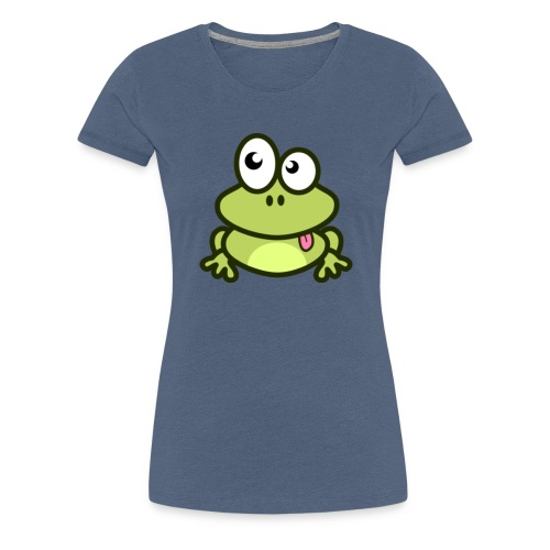 epic frog - Women's Premium T-Shirt