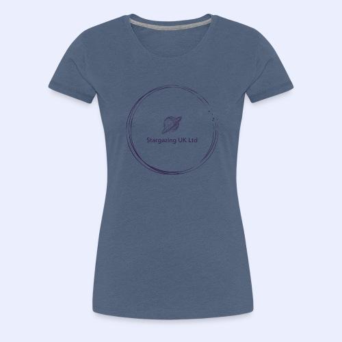 Stargazing UK - Women's Premium T-Shirt