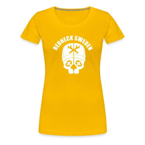 Redneck sweden logo - Premium-T-shirt dam