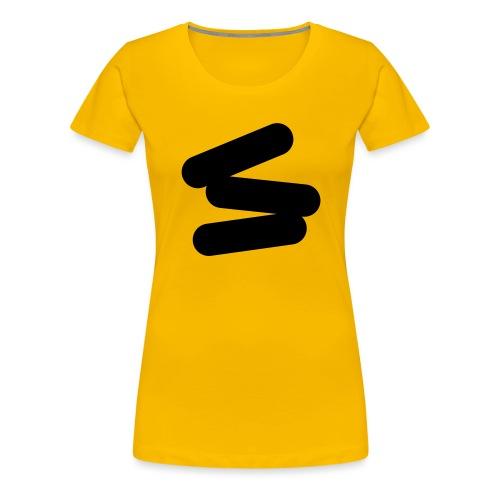 3 strikes black - Women's Premium T-Shirt