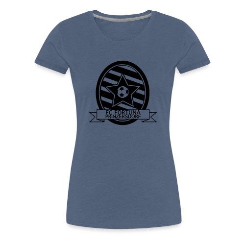Fortuna Logo SW - Frauen Premium T-Shirt