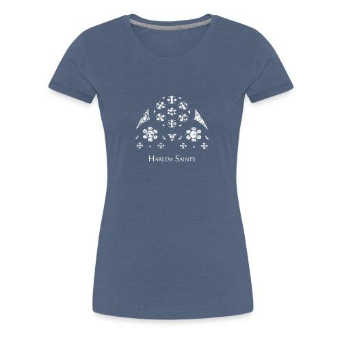Harlem Saints - Glas in lood - Vrouwen Premium T-shirt