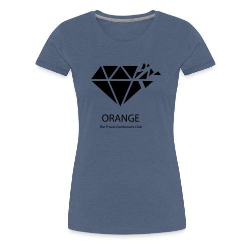 ORANGE worldwide Private Gentleman's Club - Frauen Premium T-Shirt