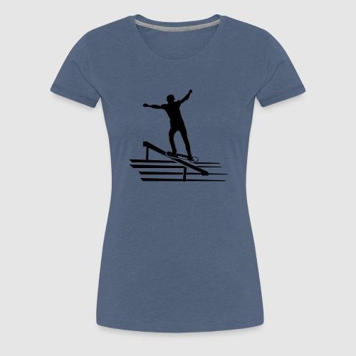 Skateboard - Frauen Premium T-Shirt