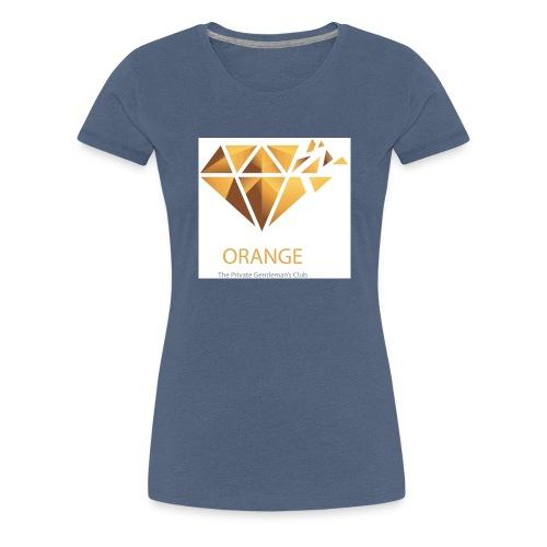 Orange Worldwide - The Private Gentleman's Club - Frauen Premium T-Shirt