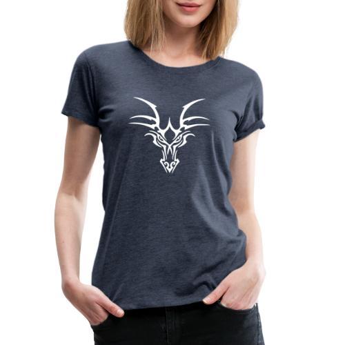 Cabeza de Dragón   DeDragones - Camiseta premium mujer
