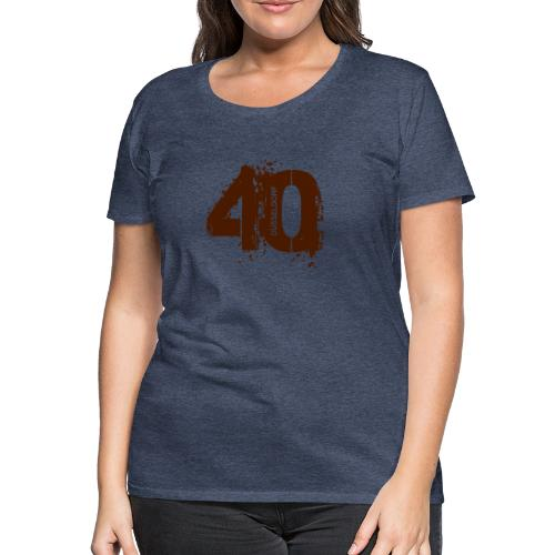 City_40_Düsseldorf - Frauen Premium T-Shirt