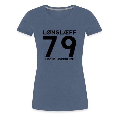 100014365_129748846_loons - Vrouwen Premium T-shirt