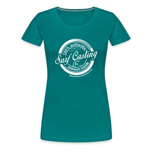 SURF CASTING - Maglietta Premium da donna