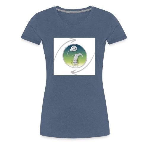 button ci - Frauen Premium T-Shirt