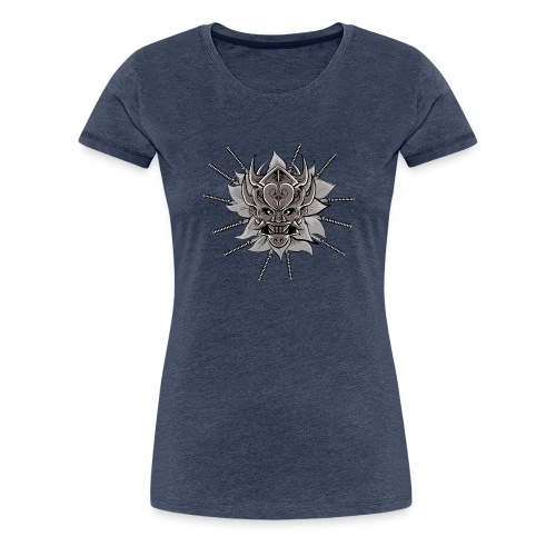 Lotus Of The Samurai - Vrouwen Premium T-shirt