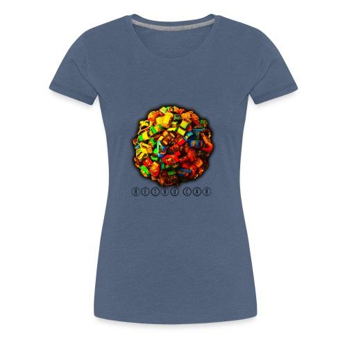 autos retro - Camiseta premium mujer