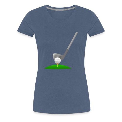 Golf Ball PNG - Camiseta premium mujer