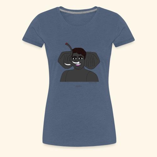 Andrea elefante - Maglietta Premium da donna