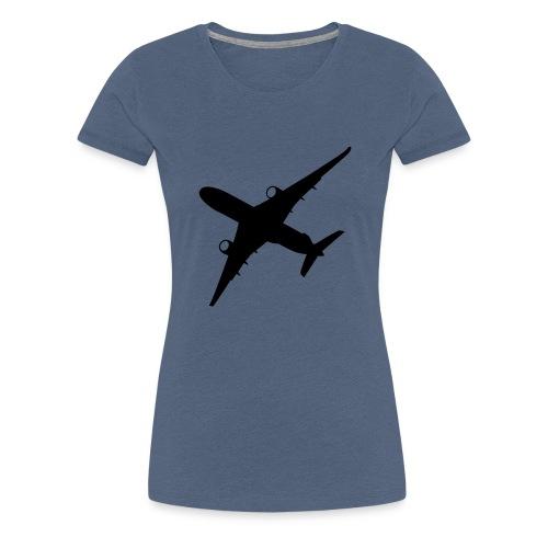 Samolot - Koszulka damska Premium