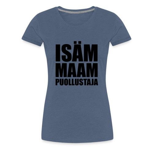 PuollustajaB - Naisten premium t-paita