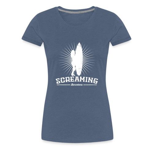 SURFER GIRL SWEATSHIRT - Camiseta premium mujer