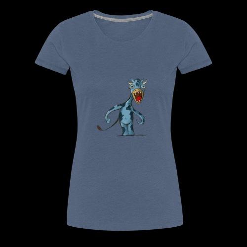 Vache funny - T-shirt Premium Femme