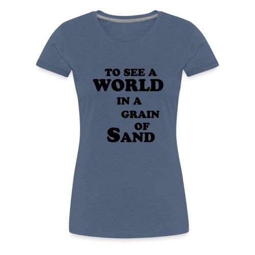 grainofsand - Vrouwen Premium T-shirt