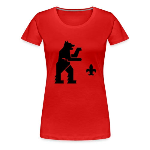 hemelogovektori - Naisten premium t-paita