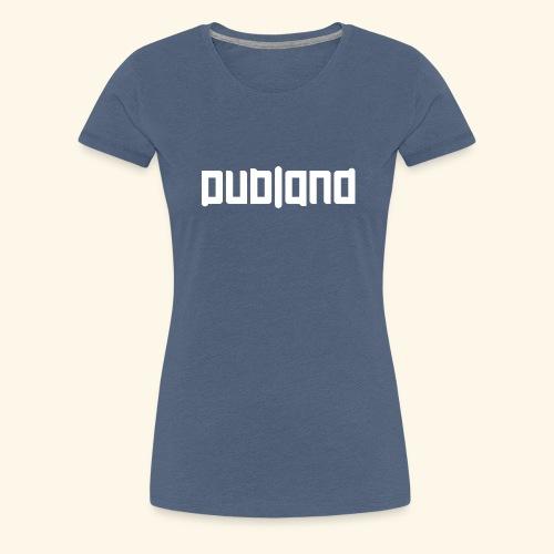 DublandLogoVITct - Premium-T-shirt dam