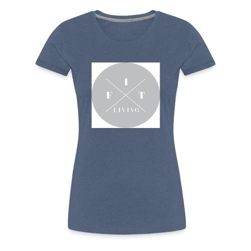FIT living. - Premium T-skjorte for kvinner