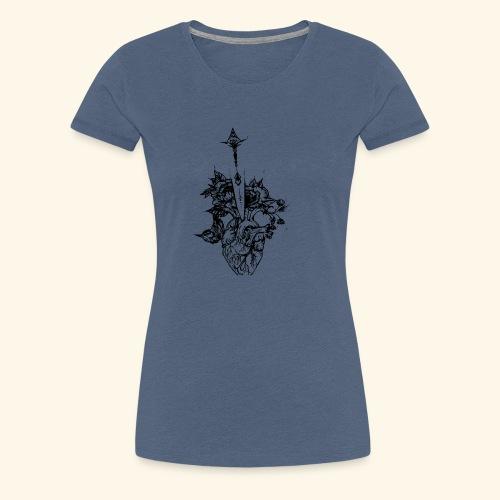 la nature du coeur - T-shirt Premium Femme