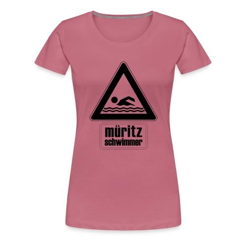 Mueritzswim13 - Frauen Premium T-Shirt