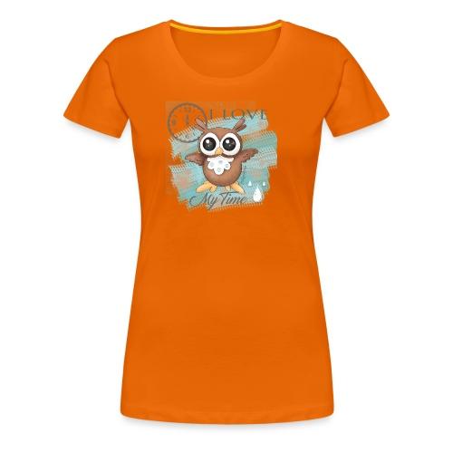 GUFO-E-TEMPO - Maglietta Premium da donna