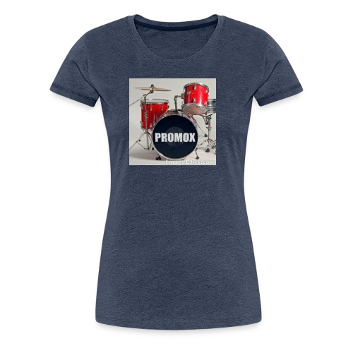 batería rock (banda) - Camiseta premium mujer