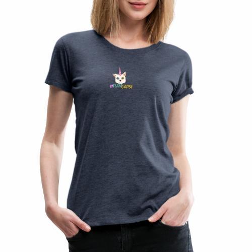 Gadse | Katze | Lustig | #TeamGadse | Vong - Frauen Premium T-Shirt