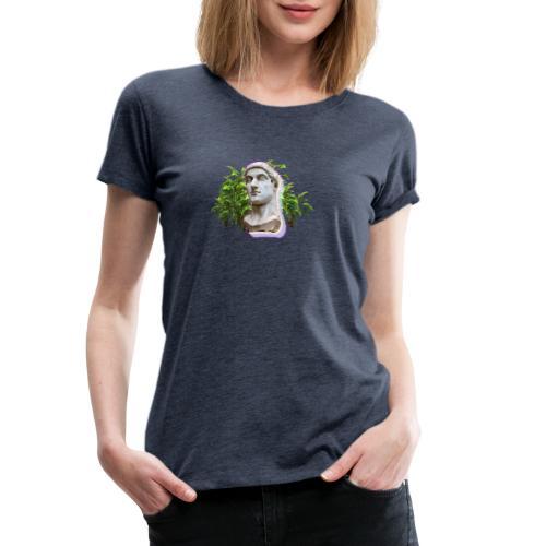 Vaporwave Statue - Camiseta premium mujer