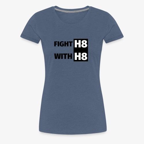 FIGHTH8 dark - Women's Premium T-Shirt